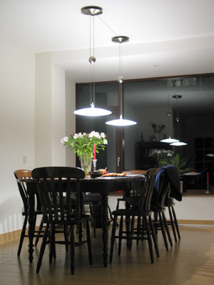09 november for Lampen eettafel design